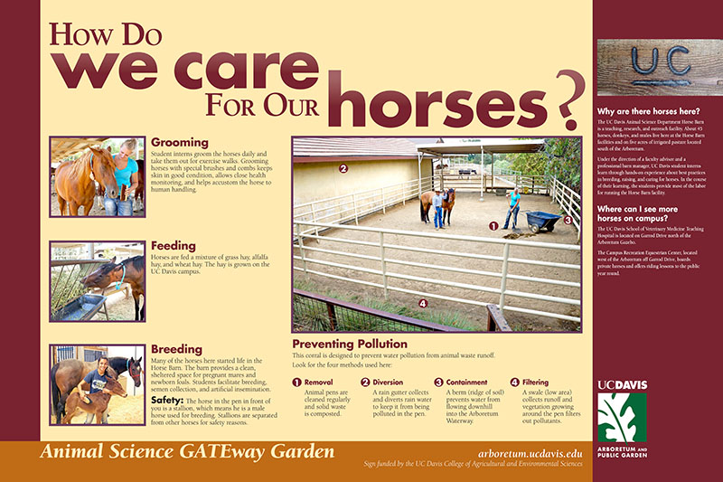 Image of Animal Science GATEway Garden exhibits