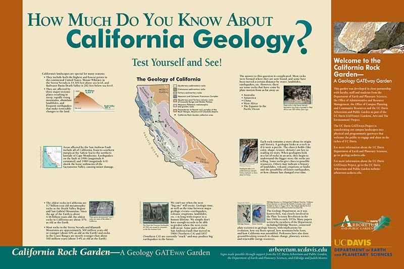 California Rock Garden | UC Davis Arboretum and Public Garden