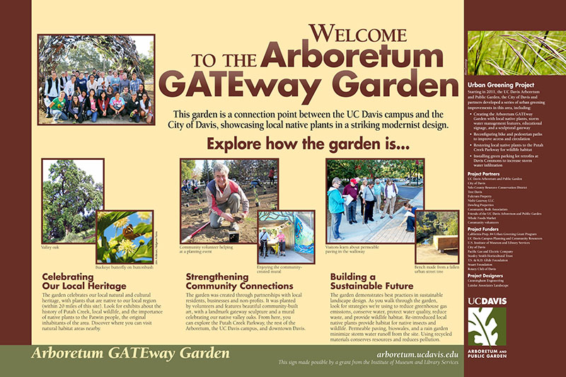 Image of GATEway Garden exhibits