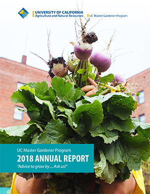 Image of Master Gardener Annual Report cover.