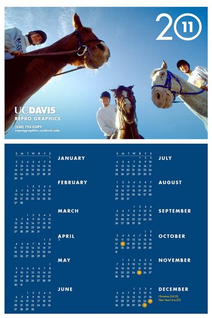 Image of 2011 Repro Graphics calendar