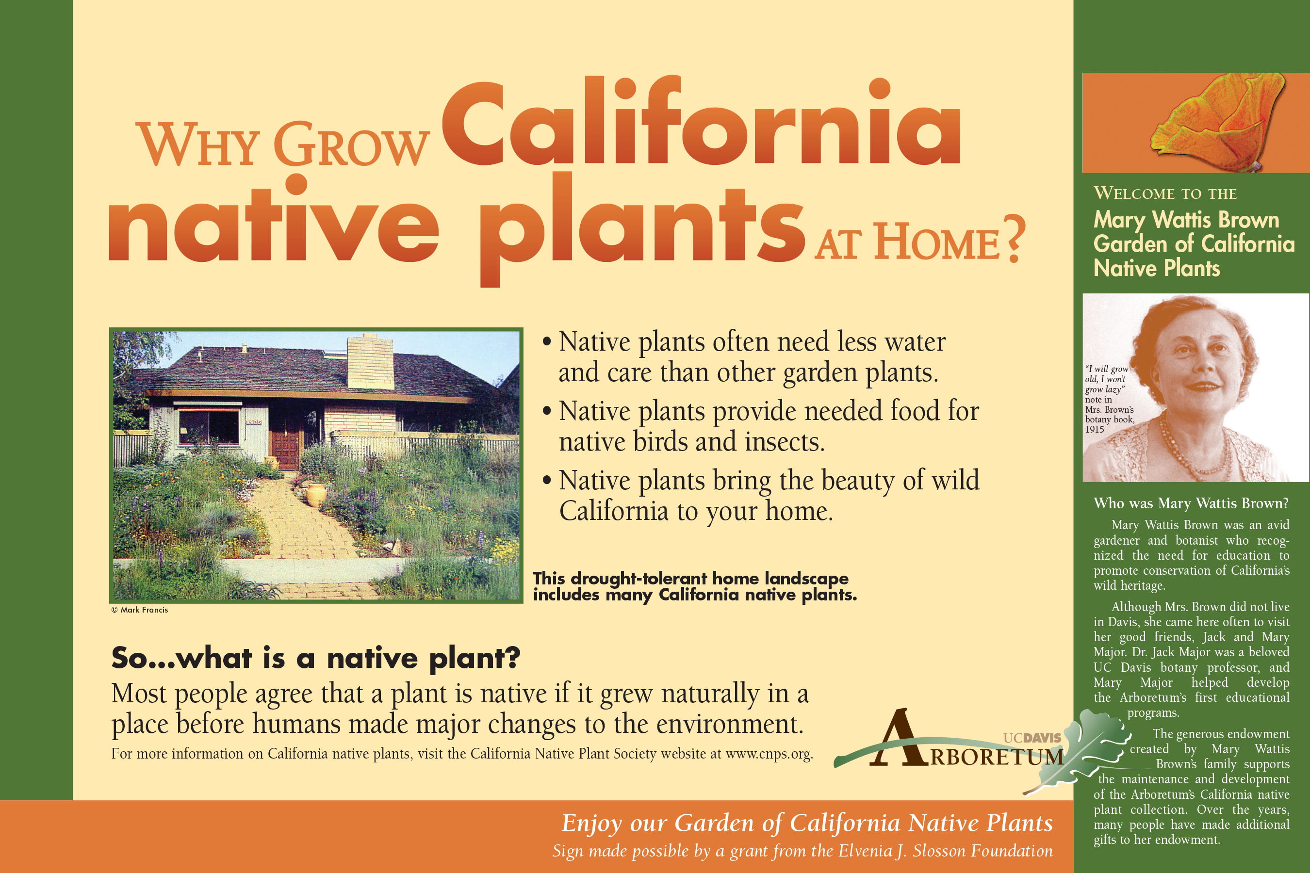 Preview of Mary Wattis Brown Garden of California Native Plants exhibit .pdf