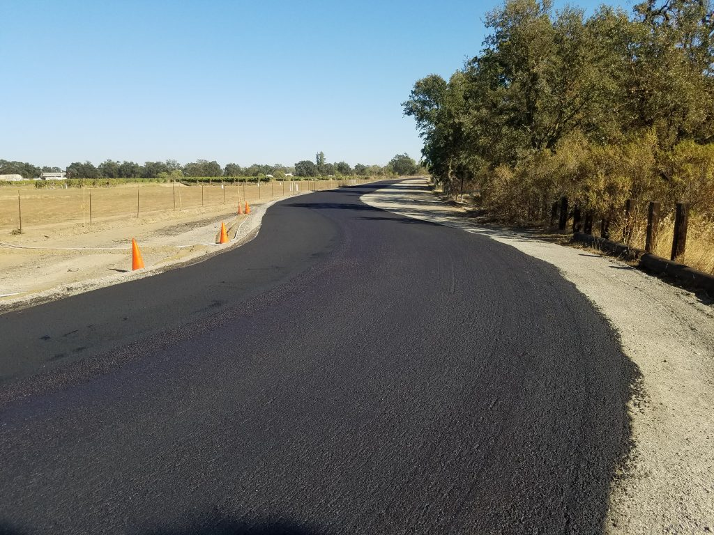 After image of new road