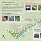 Detail image from the UC Davis Arboretum visitor map