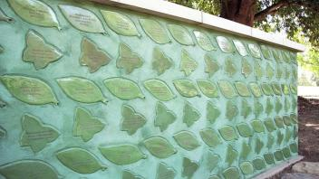 butterfly and leaf tiles