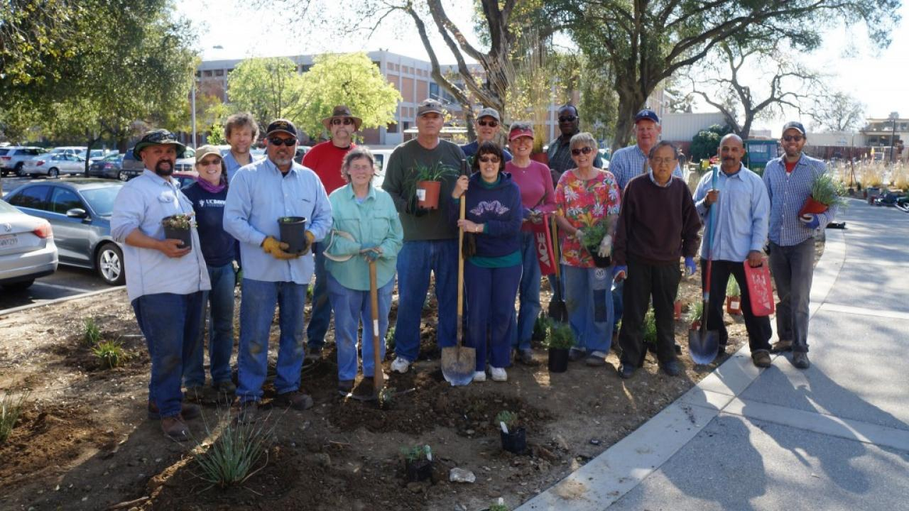 Arboretum and Public Garden staff and volunteers
