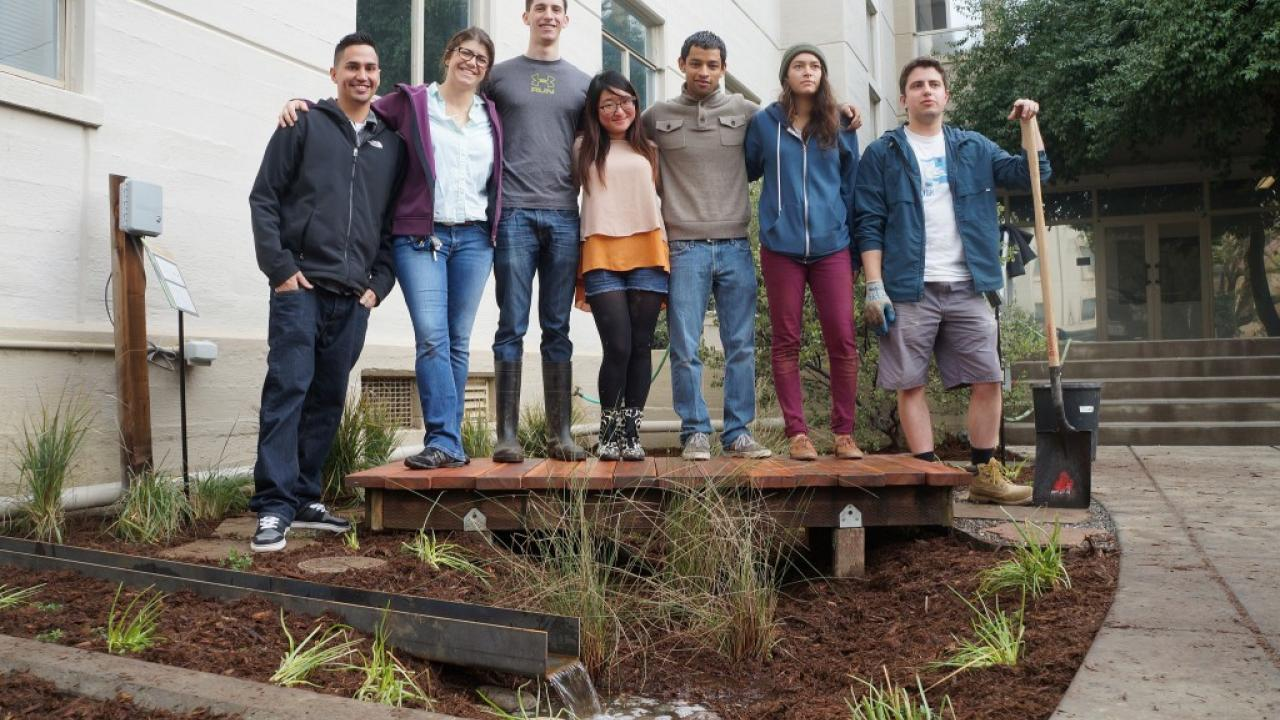 Environmental design and landscape architecture students