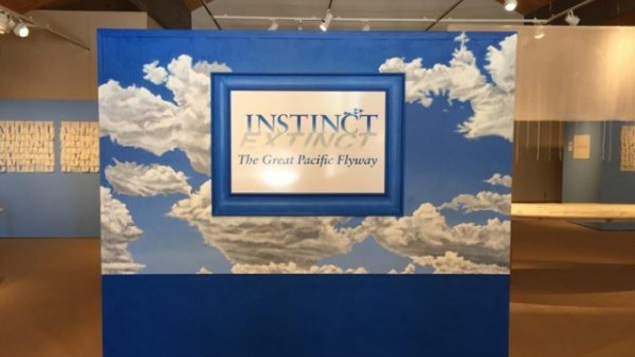 SNEAK PEEK:  Instinct / Extinct exhibit comes to UC Davis fall 2017
