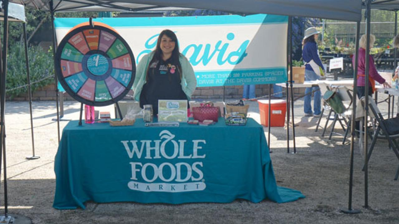whole foods booth