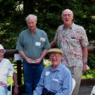 Four Friends of the UC Davis Arboretum