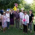Image of UC Davis Arboretum and Public Garden members and volunteers.